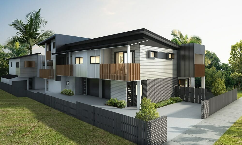 Boutique townhouse development